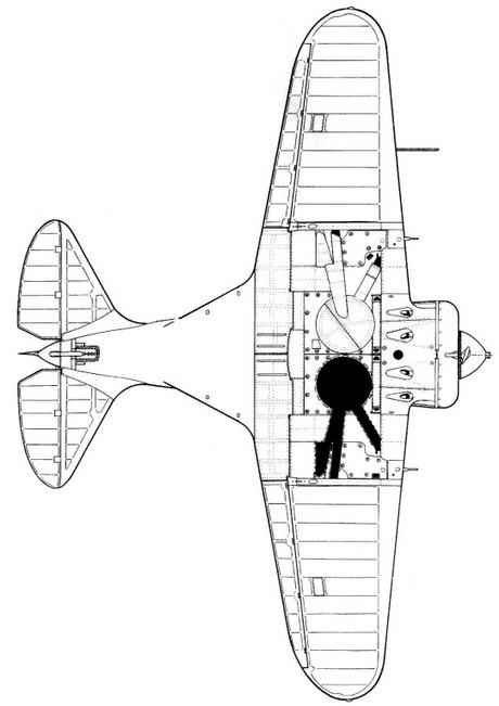 Полные виды — И-16 тип 10.