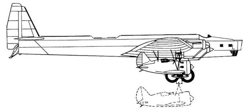 «Подвеска» — ТБ-3 + И-16.