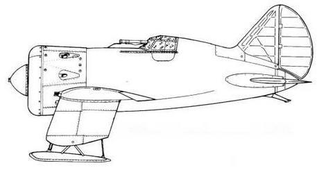 И-16 тип 11 (штурмовик завода №21).