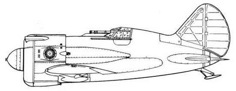 И-16В с М-62.