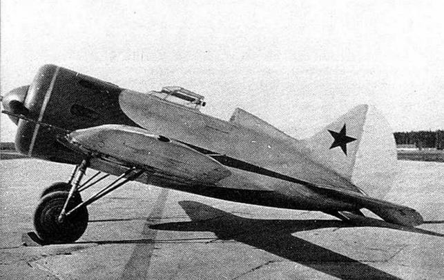 И-16 тип 12 во время госиспытаний летом 1936 г.
