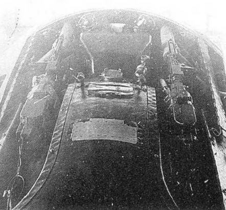 Верхние лючки на И-16 тип 17.