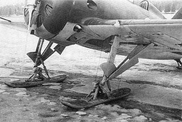 Трофейный И-16 тип 18 в Финляндии. 1940-1941 гг. (Г.Петров).
