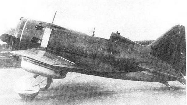 И-16 тип 29 во время госиспытаний. 1940 г.