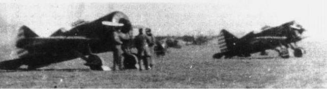 И-16 тип 5 в Китае (Г.Петров).