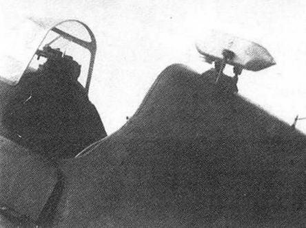 Установка фотокинопулемета ПАУ-22 за кабиной И-19 тип 29.