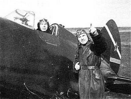 Летчики 13 ОАЭ, КБФ 1940г. (Г. Петров)