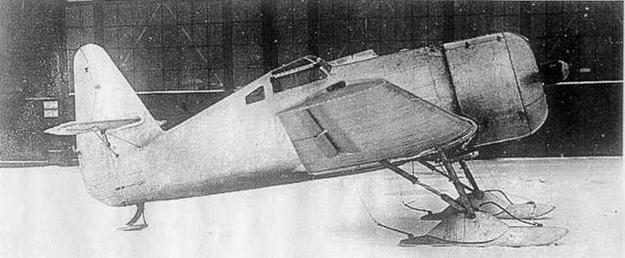 Опытный И-14 (АНТ-31) зимой 1933-34 гг. (МЖ)