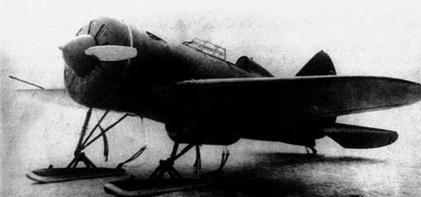 И-16 тип 5 с плоским подвесным боком.