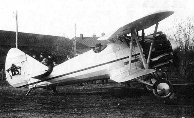 Первый опытный И-5 (ВТ-11) 28 апреля 1930 г. (МЖ)