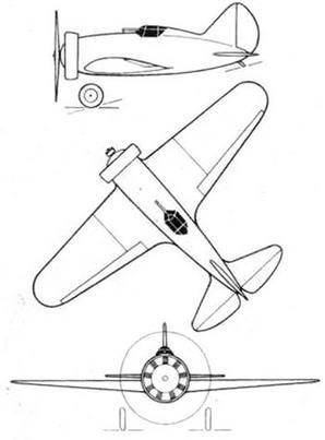 Проект ЦКБ-12 (вариант капотирования с кольцом Тауненда).