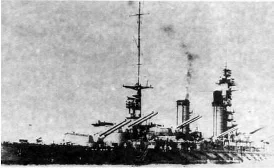 Линейные корабли «Фусо» и «Ямаширо»