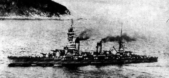 Линейный корабль «Фусо» в первые годы службы