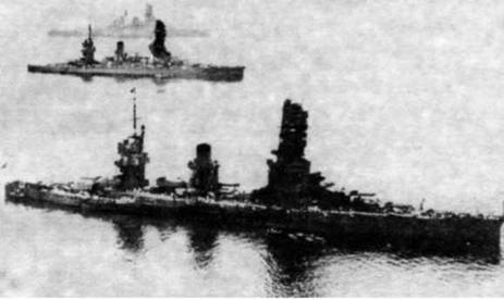 """Линкор """"Ямаширо"""" в годы второй мировой войны"""