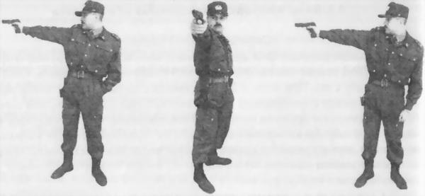 4.2. Виды изготовки для стрельбы из пистолета