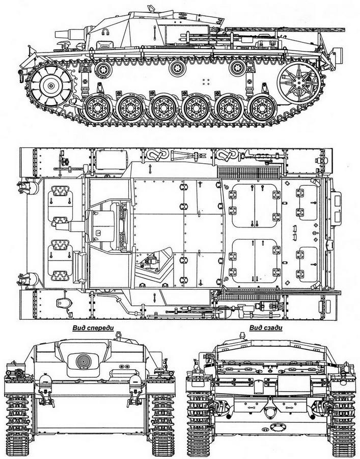 StuG III Aus/C/D