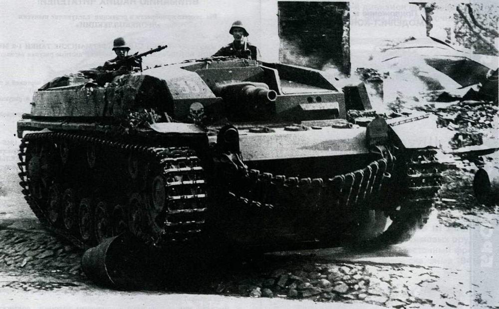Штурмовое орудие StuG IIIAusf.A из состава 191-го дивизиона. Восточный фронт, 1941 год