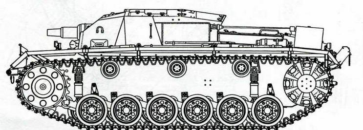 StuG III Ausf А