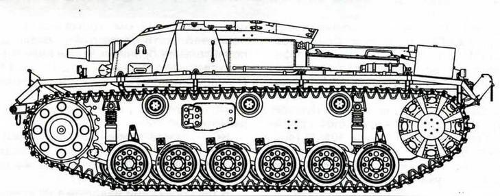 StuG III Ausf.B (первые 8 машин)