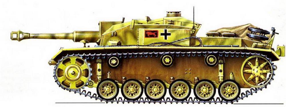 StuG III Ausf.F. 191-й дивизион штурмовых орудий (191. StuG Abt). Восточный фронт, 1943 г.