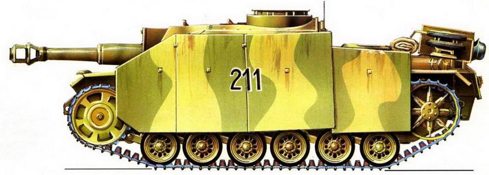 StuG 42. 394-я бригада штурмовых орудий (394. StuG Brigade). Западный фронт, Франция, 1944 г.