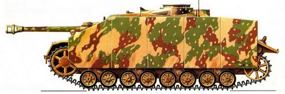 StuG IV. Восточный фронт, район р.Одер, 1945 г.