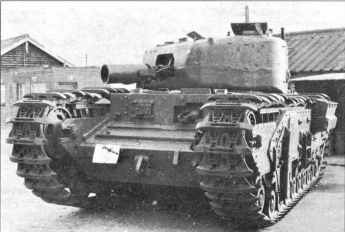 бронированная инженерная машина «Черчилль» AVRE.