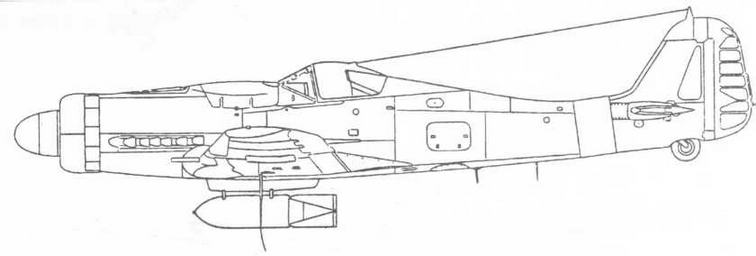 FW190D-9 с SC500