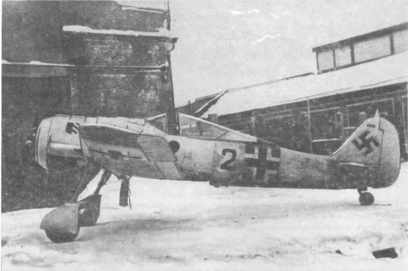 Истребитель FW190A-4 в НИИ ВВС