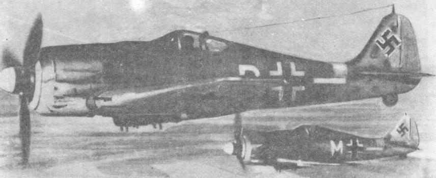 FW190G из состава II/SG10 на Восточном фронте (Румыния, 1944 г.)
