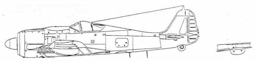 FW190A-7/R1 Истребитель-перехватчик, вооруженный восемью MG151/20 и двумя MG131