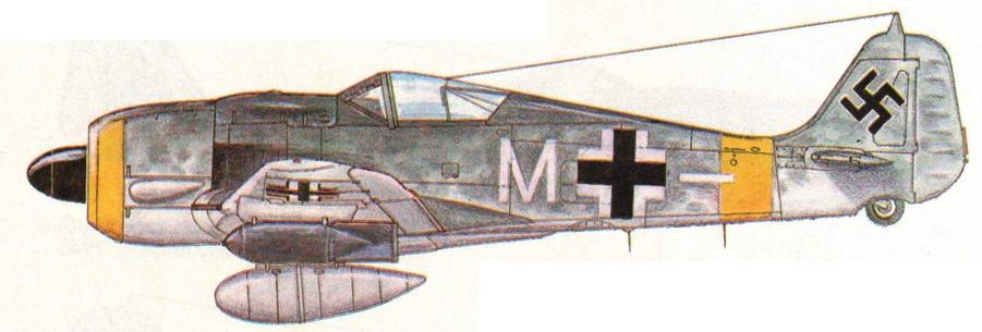 FW190G-8 из II/SG10. Румыния, 1944 г.