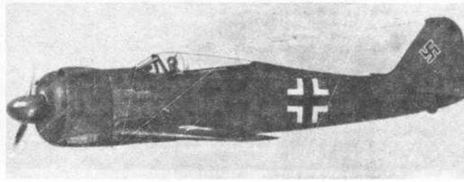 FW190V1 после переделки кока