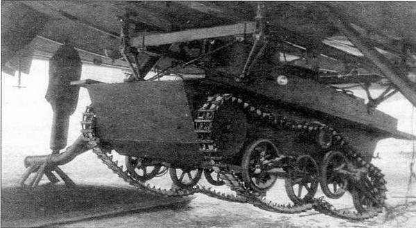 Легкий танк Т-41 на подвеске ПГ-12