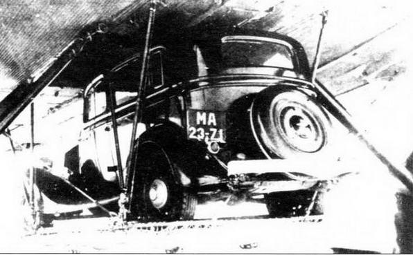 Легковые автомобили ГАЗ-М1