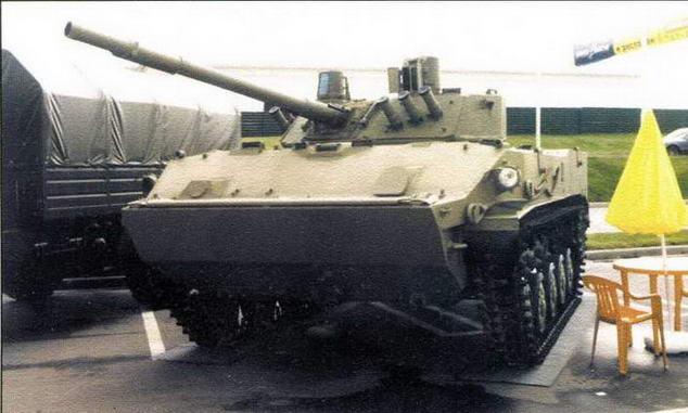 Боевая машина десанта БМД-4 в экспозиции выставки «Интерполитекс-2004»