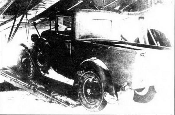ГАЗ-М4 на подвесках ПГ-12