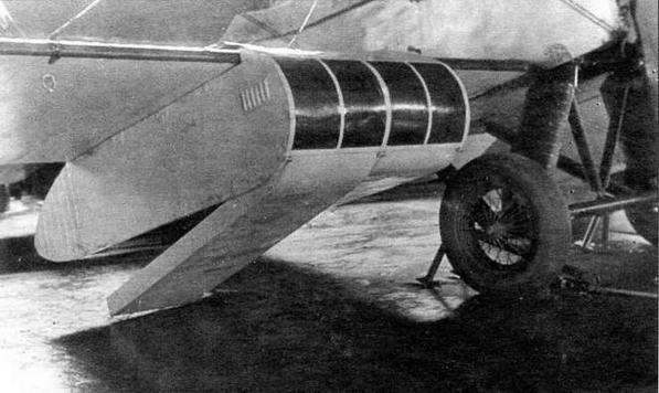 Один из вариантов кабины для сброса парашютистов