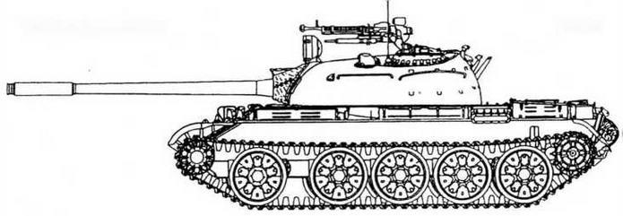 Т-55 выпуска 1970 г.