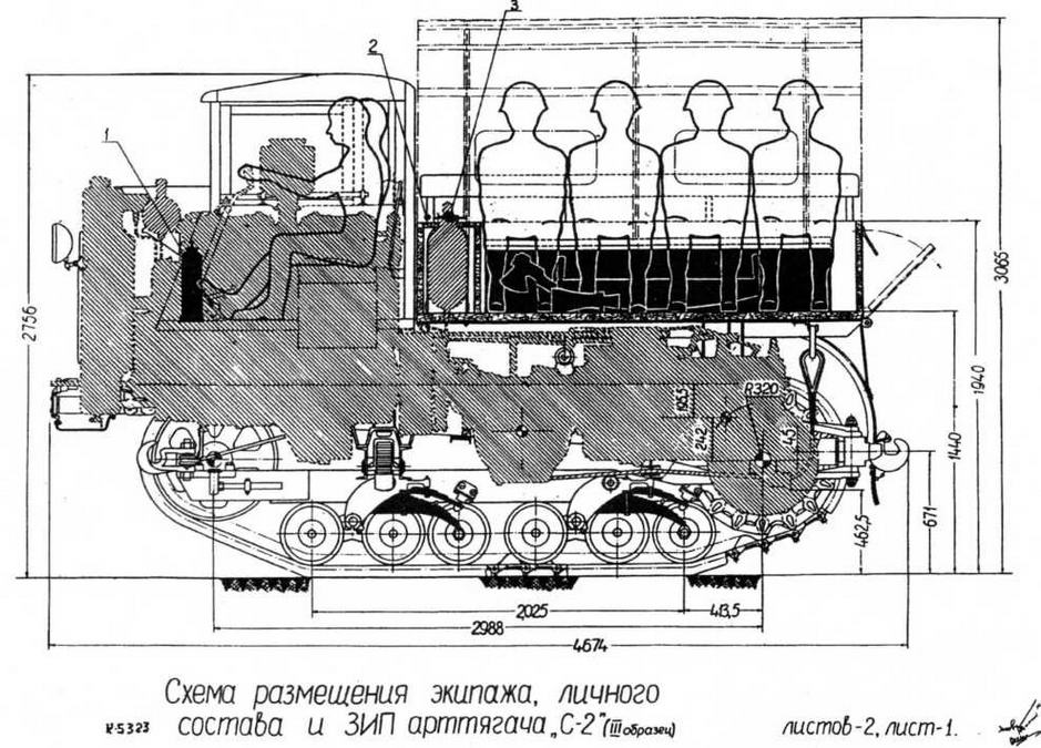 Транспортный трактор «Сталинец-2»