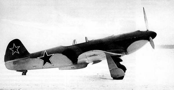 ЯК-3 С ДВИГАТЕЛЕМ ВК-108
