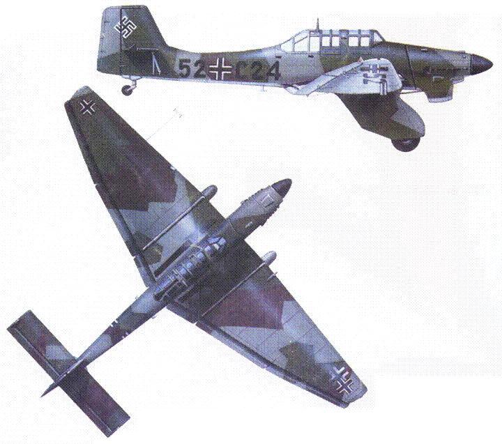 Ju 87А-2 из St.G. 165, Германия, 1938г.