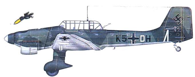 Ju 87 В-1 из I./StG 1, сентябрьская кампания 1939г.