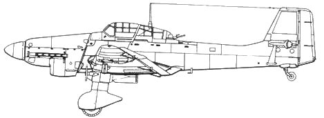 Ju 87D-1 (ранний)