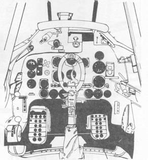 Кабина пилота Ju 87А