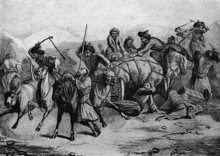 3.Первые набеги казаков