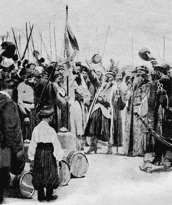 12.Запрещение казакам заниматься набегами по Волге и ходить под Азов