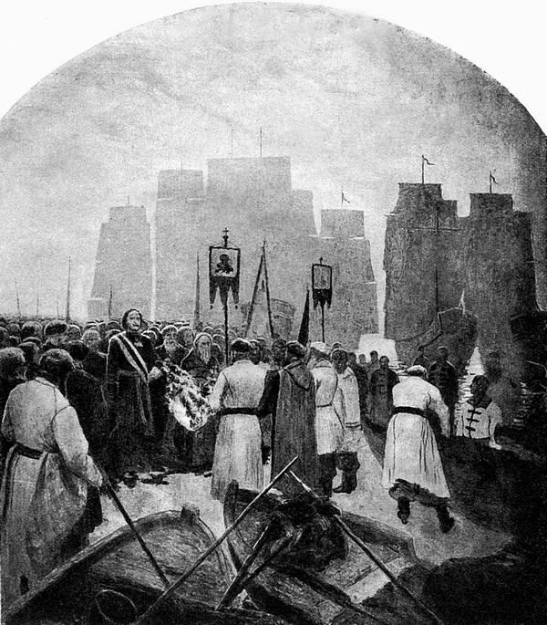 22.Царь Петр на Дону. 1695год