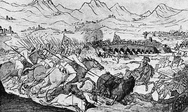 42.Донские казаки с Суворовым в Италии. 1799год
