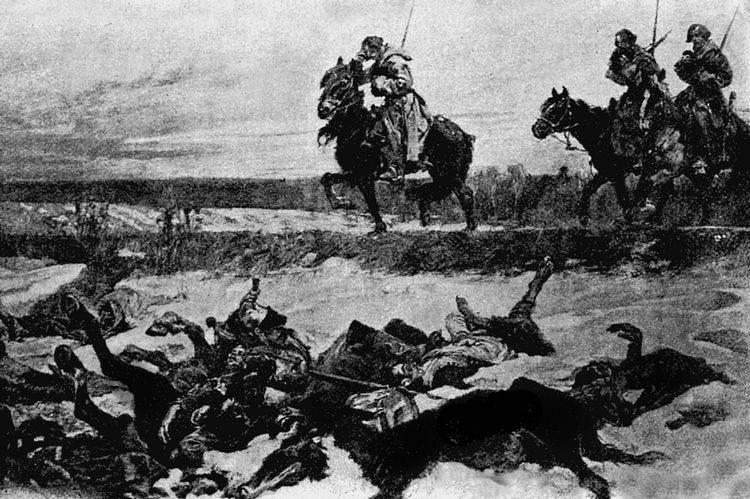 55.Изгнание французов из России